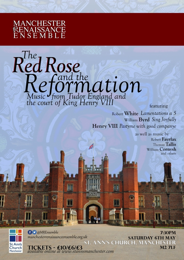 The Red Rose and the Reformation Poster